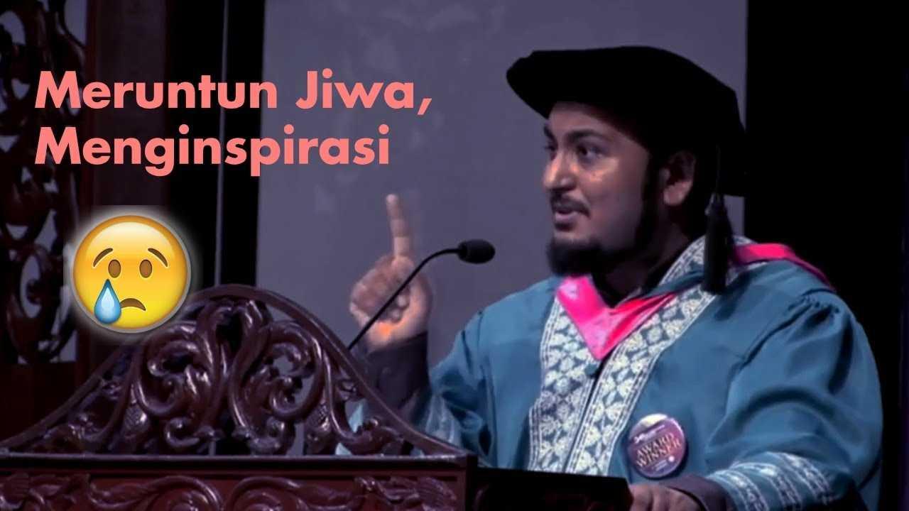 Ucapan Graduan Terbaik UIA yang Viral