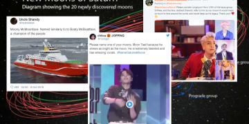 Pertandingan Namakan 20 Bulan Zuhal Dibuka, Reaksi Netizen Memang Dah Agak.