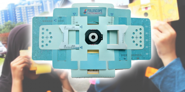 FOLDSCOPE – Mikroskop Origami Yang Boleh Dipasang Anak 7 Tahun!