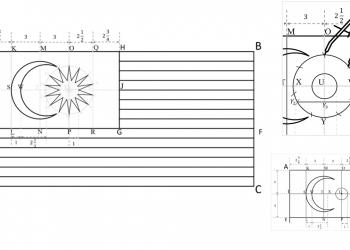 Cara Membina Jalur Gemilang menggunakan set geometri