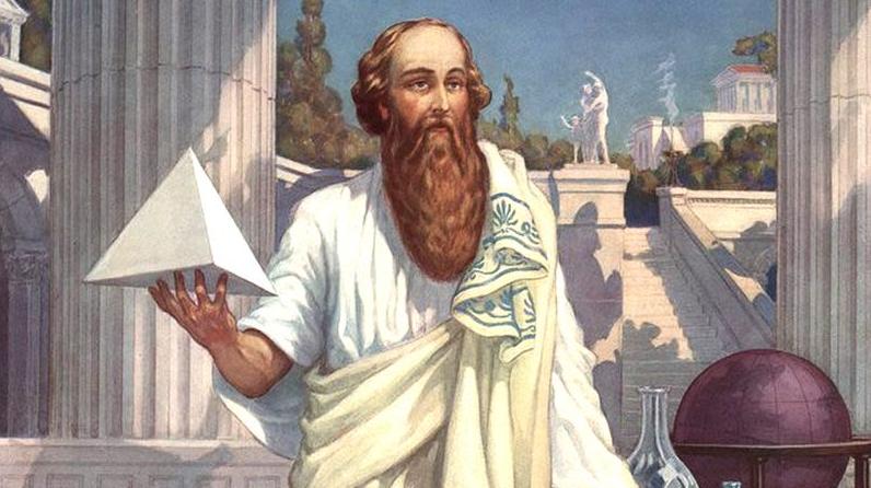 Kisah Milo Si Kuat, Dengan Pithagoras Si Pintar